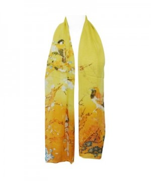 Allydrew Floral Polyester Oblong Sunglow