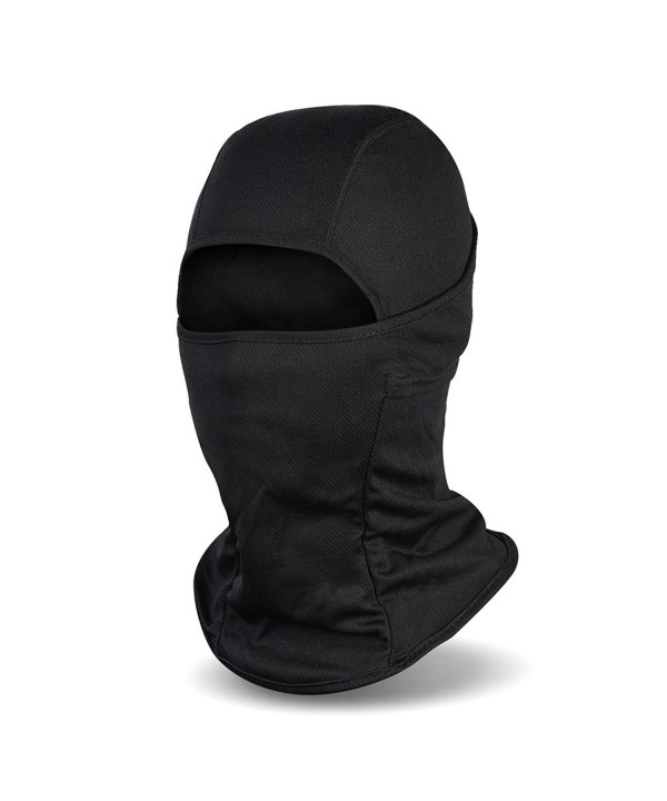 Vbiger Winter Balaclava Face Mask for Cycling- Biking- Ski and Snowboard for Men and Women - Black - CO12L8G1U5Z
