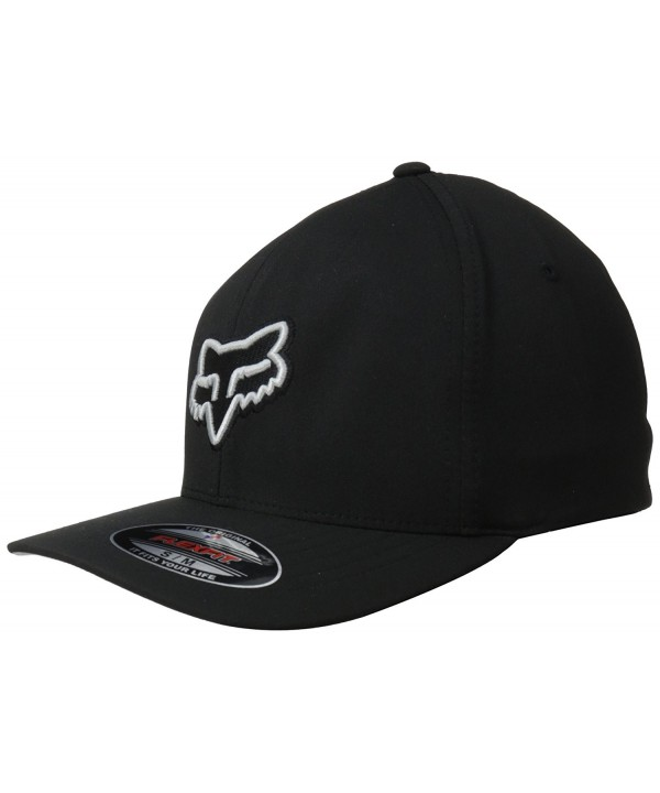 Fox Men's Exertion Flexfit Hat - Black - CV11GIWMLXP