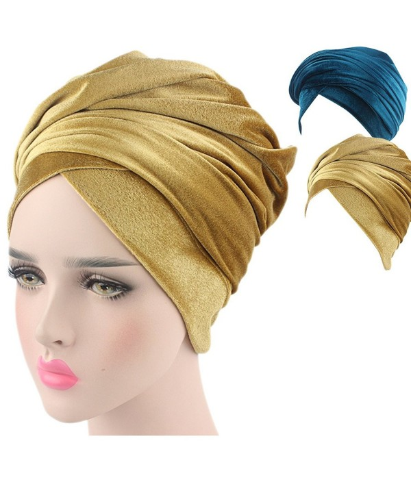 Turban Hat Headband Head Wrap - 1 - CK188OZS78H