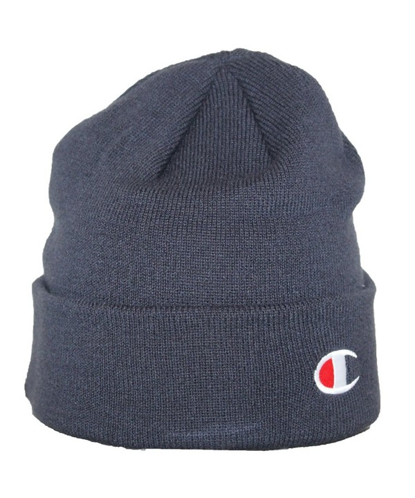 Champion LIFE Men's Beanie - Navy - CC185QQUX0S