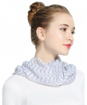 Luxina Infinity Ligthweight Printed Multi colored in Fashion Scarves