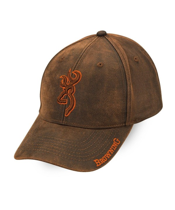Browning Rhino Cap- Brown - C011SQDKLN1