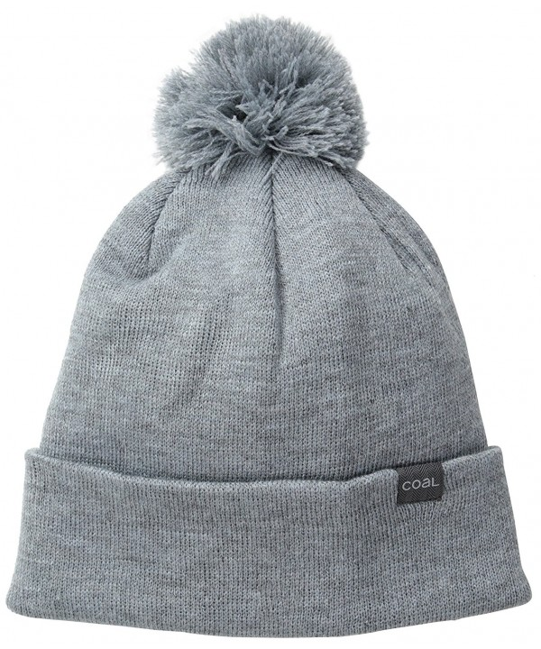Coal Men's Pablo Unisex Beanie - Heather Grey - CG11J2EYCQF