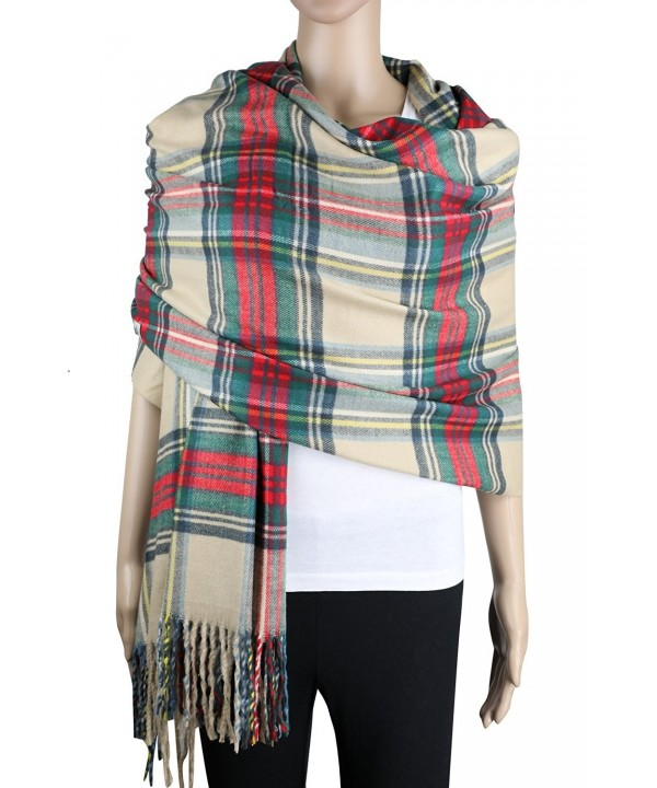 Achillea Oversized Cashmere Scotland Scottish - Stewart Dress Tartan - C21876EITMK