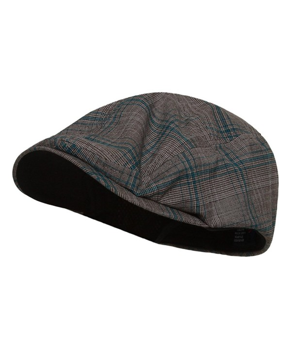 FASHION PLAID IVY CAP- Blue Plaid S - CU11057UG0T