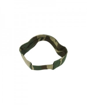 Camouflage Pattern Washed Outdoor Visor