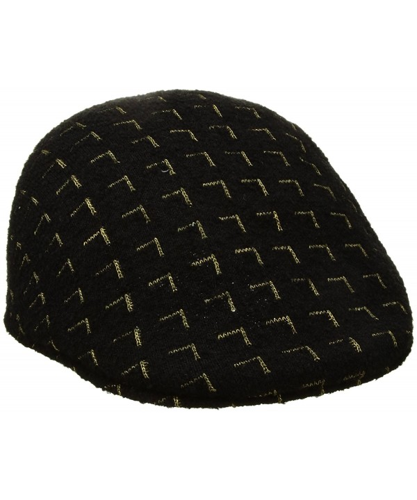Kangol Men's Matrix 507 Cap - Black/Gold - CL17YK8ARU6