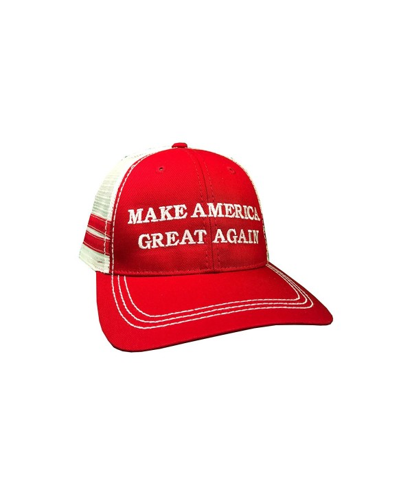 how-z-it Make America Great Again Donald Trump Hat - Vintage Style Red Trucker Hat - CT12O3P3AQ2